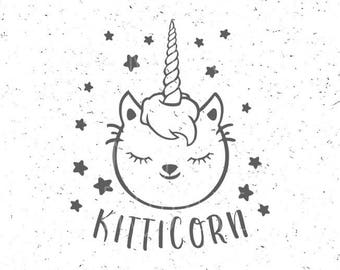 Kitticorn svg Kitticorn svg file I am a Kitticorn svg file Kitticorn svg Caticorn svg file Unicorn svg Cat svg Cut file Cricut Silhouette
