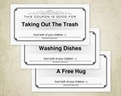 Love Coupons Printable, D...