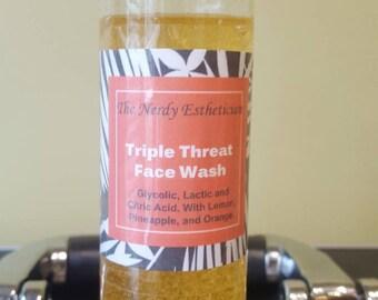 Triple Threat Face Wash