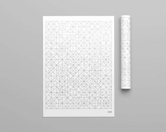 Geometrical Poster