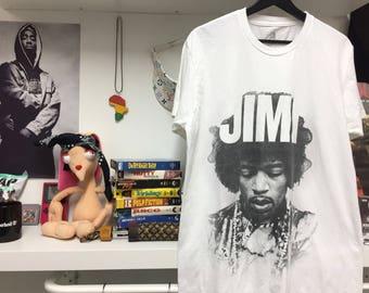 Jimi Hendrix tee size L