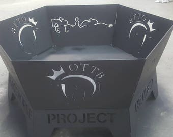 Retired Racehorse Project Firepit -  RRP