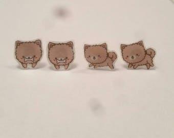 Kawaii Cute Dog Earrings