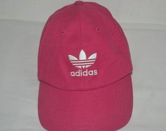 Vintage Adidas trefoil 90s cap hat three stripes