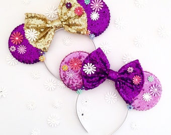 The Lanterns - Handmade Inspired Mouse Ears Headband