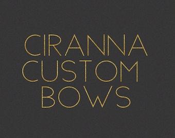 40 Custom Bows