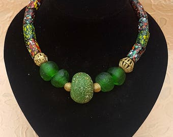 Mixed Green necklace