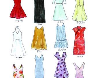 Dresses Chart