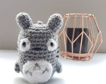 My Neighbour Totoro Keyring amigurumi/crochet | Mini Totoro keychain plush | studio ghibli | gifts for him | gifts for her [Made to order]