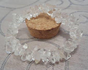 Chunky Quartz Gemstone Bracelet