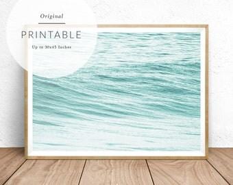 Ocean Print - Baydreem. Ocean Wall Art Ocean Print Ocean Poster Ocean Art Ocean Photo Ocean Water Ocean Swell Ocean Printable Download