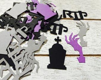 Tombstone Confetti/ Halloween Confetti