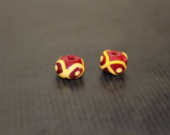 Viking Glass beads - viking glass bead