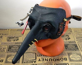 """Steampunk Mask ''Pipets Plague Doctor"""""""