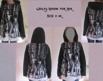 wolfy hoodie