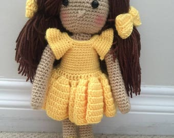 Crochet Doll, Baby Doll, Toy Doll,  Soft Baby Doll, Soft Doll, Baby Doll Clothes, Crochet Clothes, Crochet Baby Doll Clothes