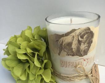 Buffalo Trace Candle