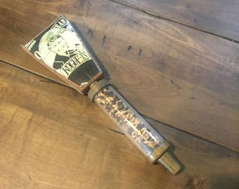 "Vintage Old Crustacean Barleywine Beer Tap - 11"" Old Crustacean Rogue-XS Beer Tap Handle Knob - Rogue-XS Beer Tap Handle"