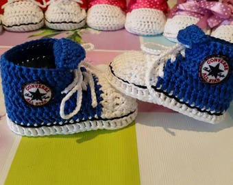 Converse All Star Crochet Baby