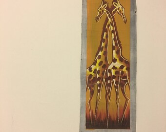 Giraffes African Canvas Painting