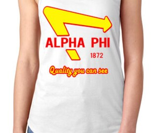 Alpha Phi - In n Out Tank
