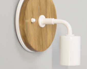 White Modern Wall Sconce