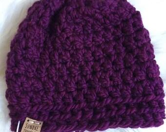 Beanie Hat | Crochet Winter Hat | Chunky Winter Hat | Crochet Beanie