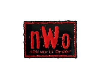Vintage NWO Wolfpac wrestling lapel pin - WCW, Kevin Nash, Scott Hall