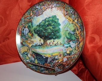 Franklin Mint Paradise by Bill Bell Collector Plate Limited Edition