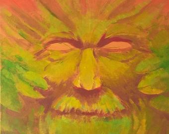 Green Man in the Fall