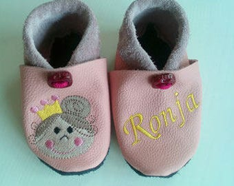Slippers crawler shoes leather shoes slippers children shoes baby shoes