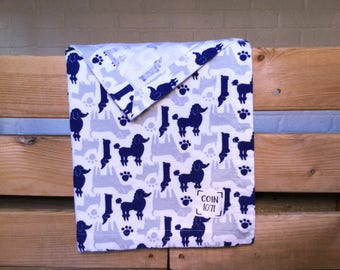 DOGS / / single layer flannel baby blanket