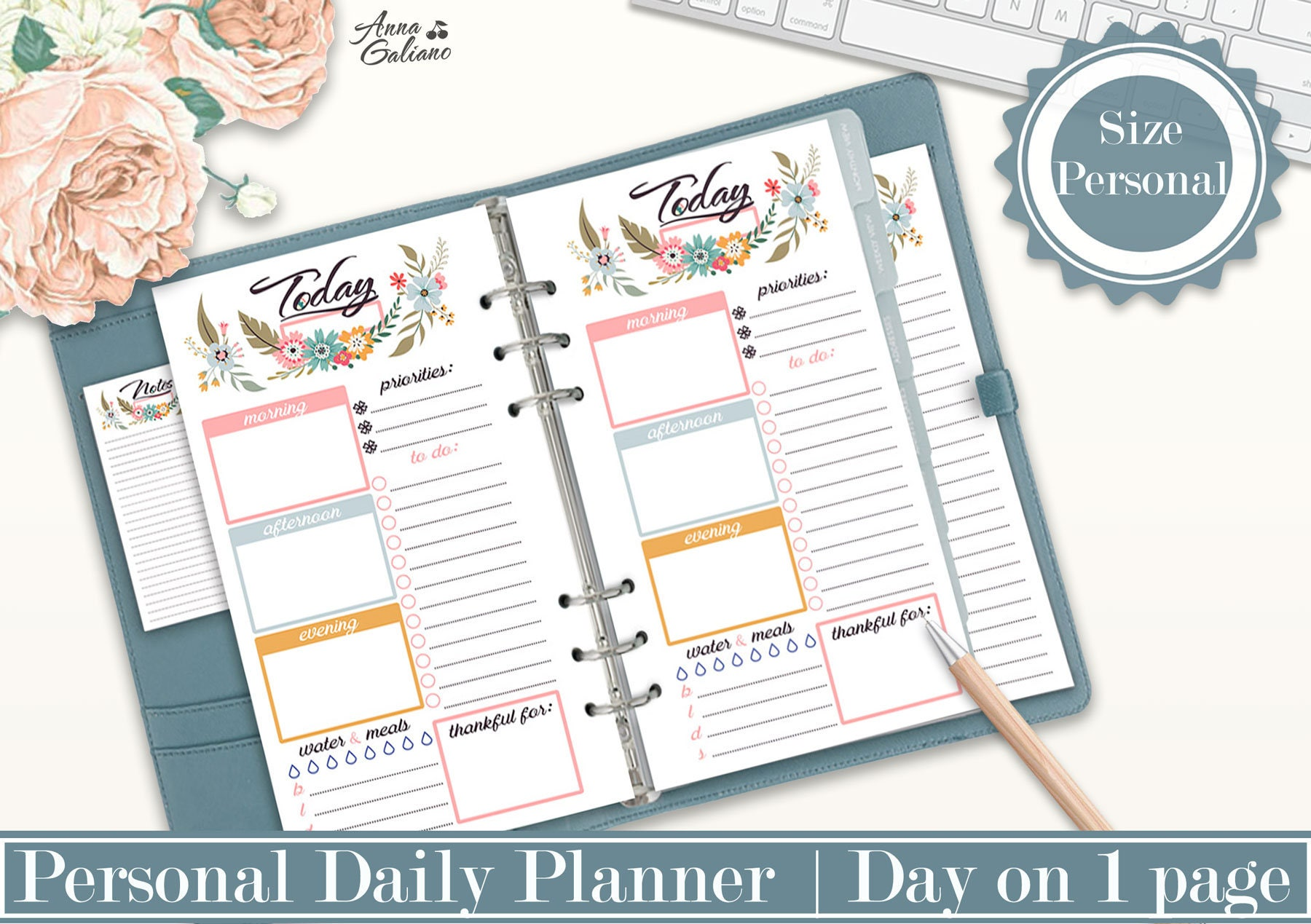 It's just an image of Stupendous Planner Inserts Printable