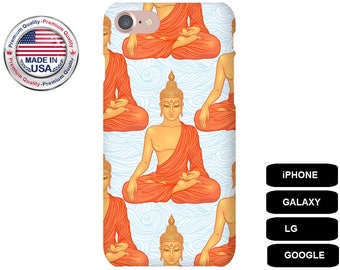 Buddha Phone Case, iPhone 5 Case, iPhone 6 Case, iPhone 7 Case, iPhone SE Case, Galaxy S5 Case, Galaxy S6 Case, Galaxy S7 Case, Galaxy S8