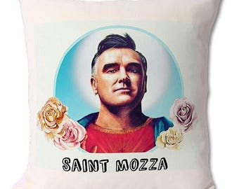 Saint Mozza /Morrissey Decorarive throw cushion. Pillow and cover  included. 46cmx46cm