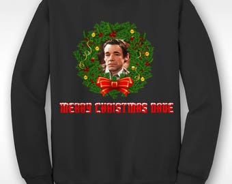 New Roy Trigger Only Fools And Horses Christmas Funny  Xmas Sweater // Ugly Jumper Sizes Small-XXL
