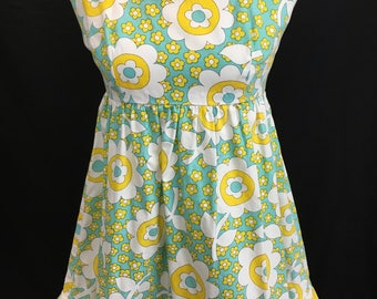 70's Hawaiian Micro Mini Dress
