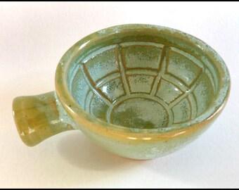 Shaving Scuttle Small Shaving Cup Ceramic Shaving Mug Pottery Shaving Bowl Handmade Wet Shaving Lather Bowl Mens Gifts, Shaving & Grooming