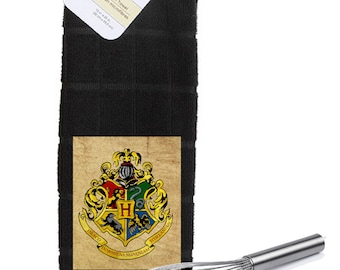 Harry Potter Hogwarts School Logo  Kitchen Towel