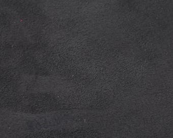 Coupon of anthracite grey lambskin leather