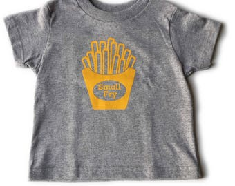 Cute kids tee shirt, small fry
