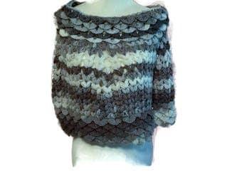 Crochet Capelet Shawl