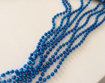 Plastic bead Garland 2.70 m gold blank