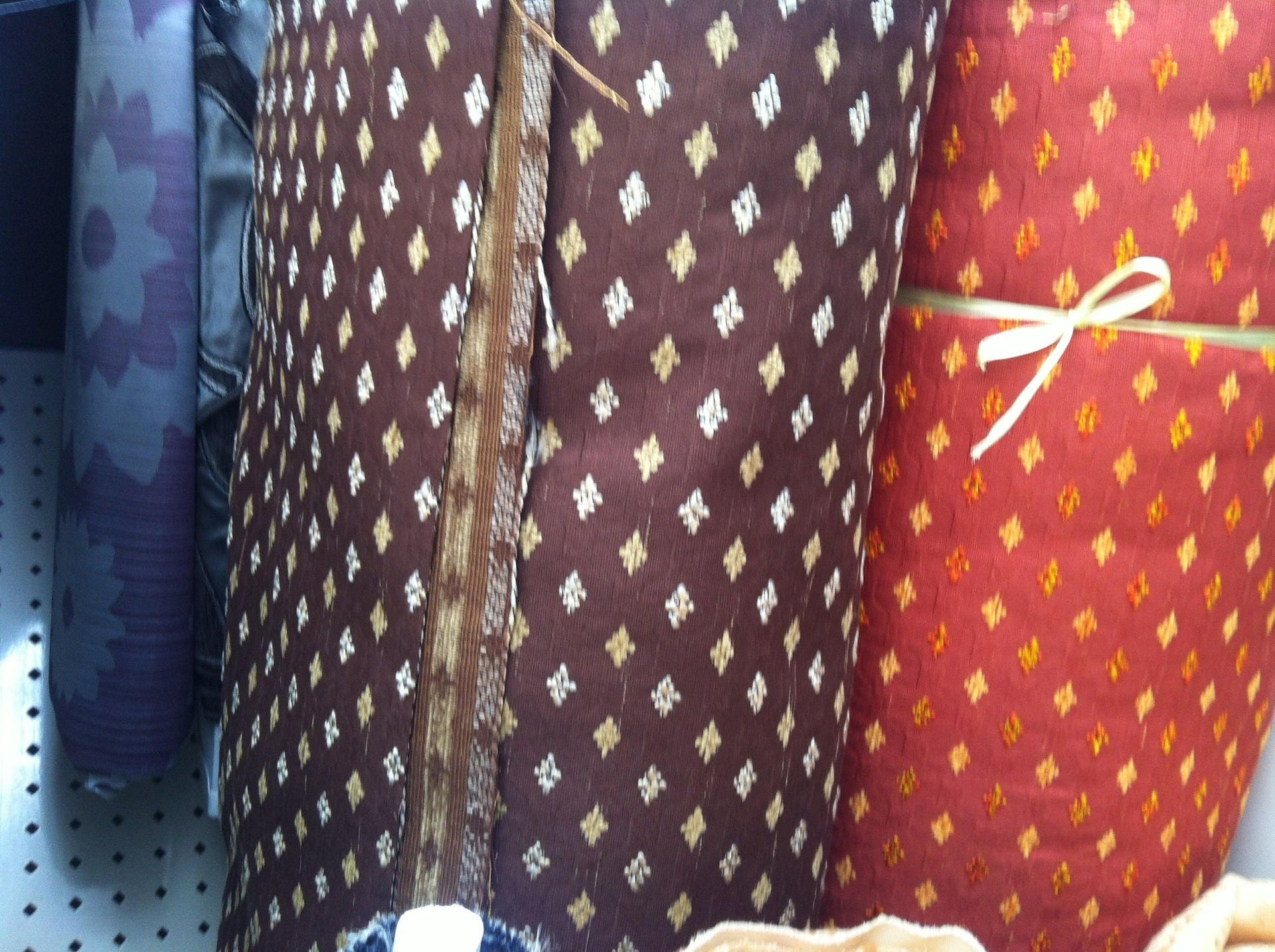 tissus double rideau possible combine. Black Bedroom Furniture Sets. Home Design Ideas