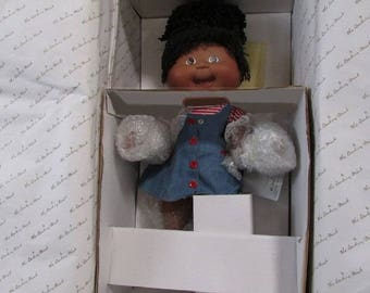 Cabbage Patch Kids Brittany Nicole Porcelain Doll in Original Box