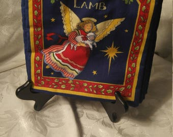 The Christmas Lamb Fabric Book