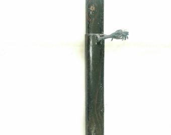 Antique Japanese Kiseru-zutsu Lacquered Pipe Case Edo Period (499963)