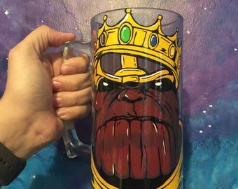 Thanos Beer Mug Stein