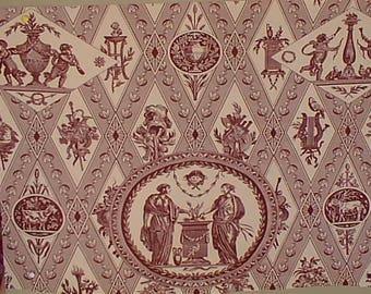 Eighteenth print cotton fabric