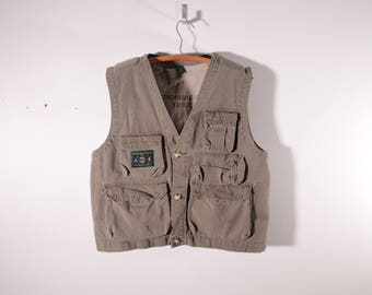 Vintage Abercrombie and Fitch trail guide vest